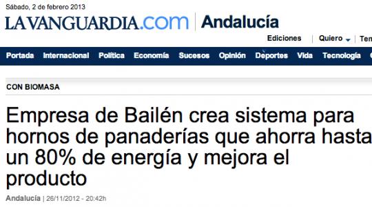 Noticia en La Vanguardia